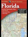 Delorme Florida Atlas & Gazetteer: [Detailed Topographic Maps: Back Roads, Recreation Sites, GPS Grids]