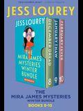 The Mira James Mysteries Winter Bundle: Books 8-10 (December, January, February)