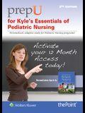 Prepu for Kyle's Essentials of Pediatric Nursing