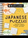 Brain Games - Japanese Puzzles: Includes Sudoku, Mathdoku, Futoshiki, Akari, and More!