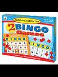 Addition & Subtraction Bingo