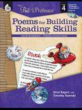Poems for Building Reading Skills Level 4 (Level 4): Poems for Building Reading Skills [With CDROM and CD (Audio)]