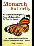 Monarch Butterfly, Monarch Butterfly Migration, Facts, Life Cycle, What Do They Eat, Habitat, Anatomy, Breeding, Milkweed, Predators