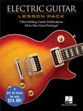 Electric Guitar Lesson Pack: Boxed Set with Four Books & One DVD