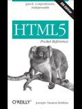 Html5 Pocket Reference: Quick, Comprehensive, Indispensable