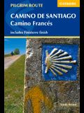 Camino de Santiago - Camino Francés: Guide with Map Book
