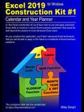 Excel 2019 Construction Kit #1: Calendar and Year Planner