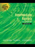 Intermediate Algebra with Applications