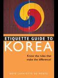 Etiquette Guide to Korea