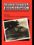 The Great Tolbachik Fissure Eruption: Geological and Geophysical Data 1975-1976