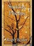 Sunday Poems