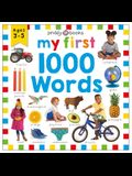 Priddy Learning: My First 1000 Words: A Photographic Catalog of Baby's First Words