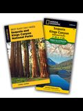 Best Easy Day Hiking Guide and Trail Map Bundle: Sequoia and Kings Canyon National Parks [With Map]