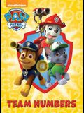 Team Numbers (Paw Patrol)