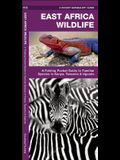 East Africa Wildlife: A Folding Pocket Guide to Familiar Species in Kenya, Tanzania & Uganda