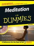 Meditation for Dummies [With CDROM]