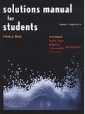 Solutions Manual for Students Vol 1 Chapters 1-21: To Accompany Physics for Scientists and Engineers 4e