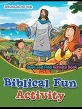 Biblical Fun Activity Seek and Find Activity Book