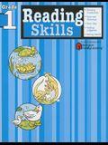 Reading Skills: Grade 1 (Flash Kids Harcourt Family Learning)