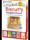 Biscuit's Neighborhood: 5 Fun-Filled Stories in 1 Box!