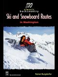 100 Classic Backcountry Ski and Snowboard Routes in Washington