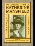 The Collected Letters of Katherine Mansfield: Volume Four: 1920-1921