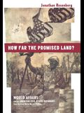 How Far the Promised Land?: World Affairs and the American Civil Rights Movement from the First World War to Vietnam