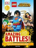 DK Readers L2: Lego(r) DC Comics Super Heroes: Amazing Battles!: It's Time to Beat the Bad Guys!