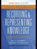 Recording & Representing Knowledge: Classroom Techniques to Help Students Accurately Organize and Summarize Content