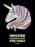 Unicorn Coloring Book For Girls: Advanced Coloring Pages for Tweens, Older Kids & Girls, Detailed Zendoodle Animal Designs & Patterns, Fairy Tale Unic