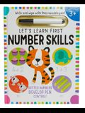 Let's Learn: First Number Skills (Write and Wipe)