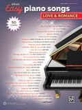 Alfred's Easy Piano Songs -- Love & Romance: 50 Classics