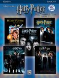 Harry Potter Instrumental Solos (Movies 1-5): Clarinet, Book & CD [With CD]