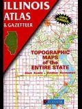 Illinois Atlas & Gazetteer (Illinois Atlas and Gazetteer)