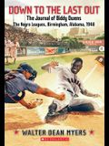 Down to the Last Out: The Journal of Biddy Owens, the Negro Leagues: Birmingham, Alabama, 1948