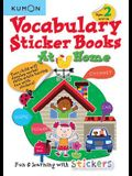 Vocabulary Sticker Books at Home