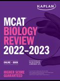 MCAT Biology Review 2022-2023: Online + Book