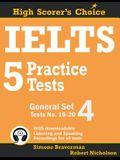 IELTS 5 Practice Tests, General Set 4: Tests No. 16-20