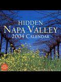 Hidden Napa Valley: 2004 Wall Calender