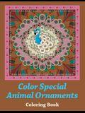 Color Special Animal Ornaments Coloring Book