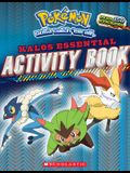 Pokémon: Kalos Essential Activity Book (Pokémon)