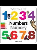 My First Bilingual Book-Numbers (English-Polish)