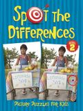 Spot the Differences Picture Puzzles for Kids Book 2