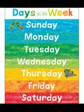 World of Eric Carle(tm) Days of the Week Chart