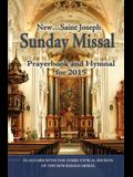 St. Joseph Sunday Missal and Hymnal: For 2015