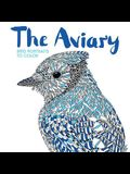 The Aviary: Bird Portraits to Color