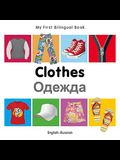 My First Bilingual Book-Clothes (English-Russian)