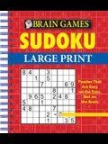 Brain Games - Sudoku Large Print