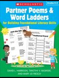 Partner Poems & Word Ladders for Building Foundational Literacy Skills: Grades K-2