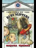 The Case of the Ruby Slippers: First Kids Mystery #3